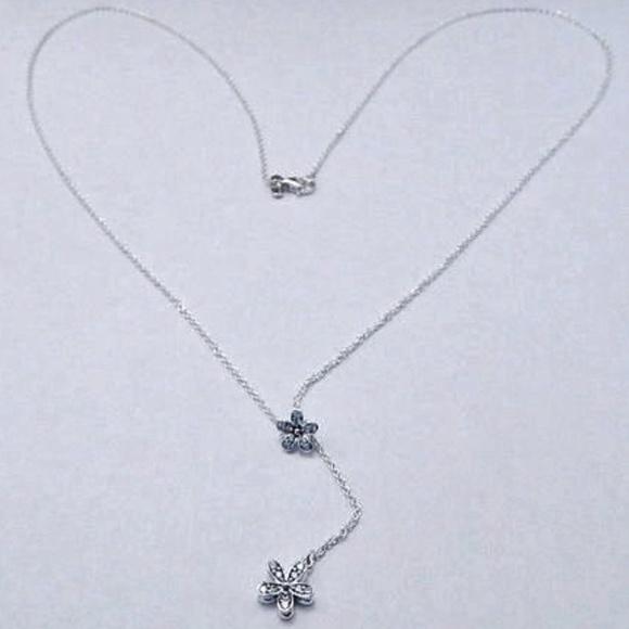 a47fbeb5d Pandora Jewelry | New 925 Dazzling Daisies Lariat Necklace | Poshmark
